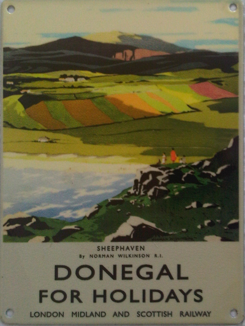 Donegal For Holidays Metal Sign - Small