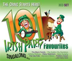 101 Irish Party Favourites ( 3 CD Set )
