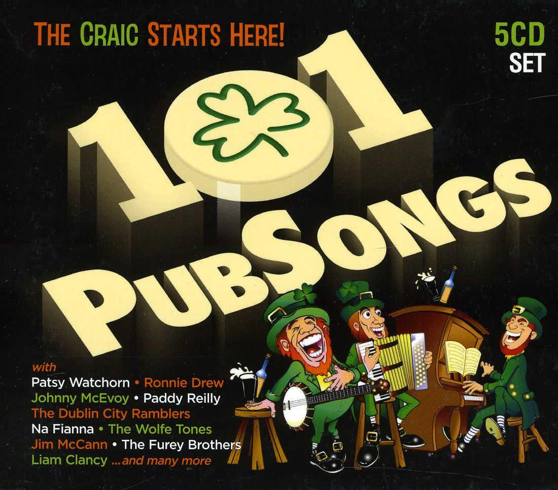 101 Pub Songs - Various Artists ( 5CD Set )