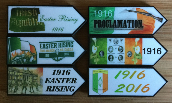 1916 Easter Rising Fridge Magnets - Set of 6 Assorted
