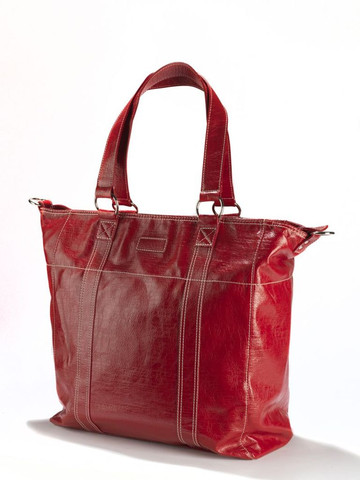 Amelie Signature Large Red Tote Bag