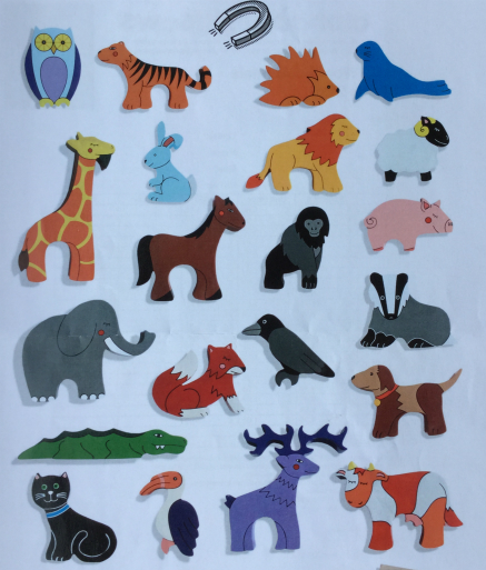 Animal and Wild Life Magnets