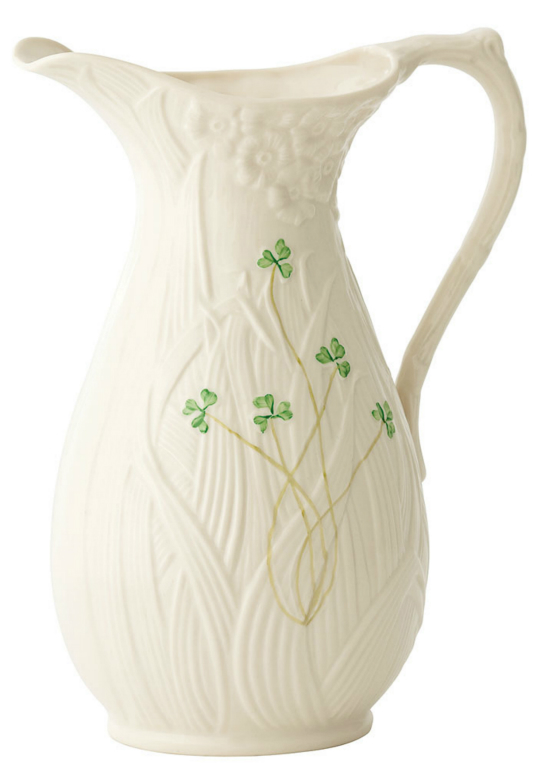 Belleek Daisy Pitcher