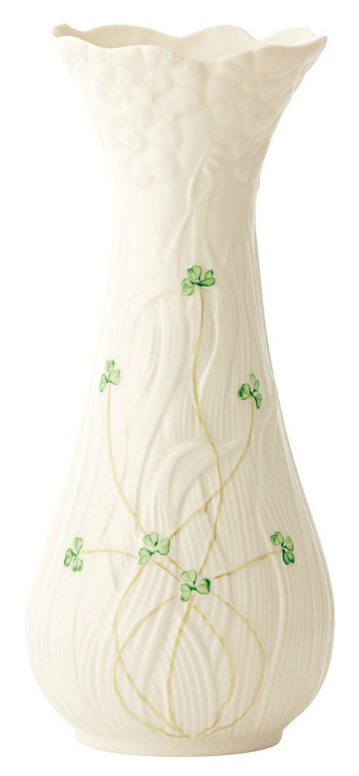 Belleek Daisy Vase Tall