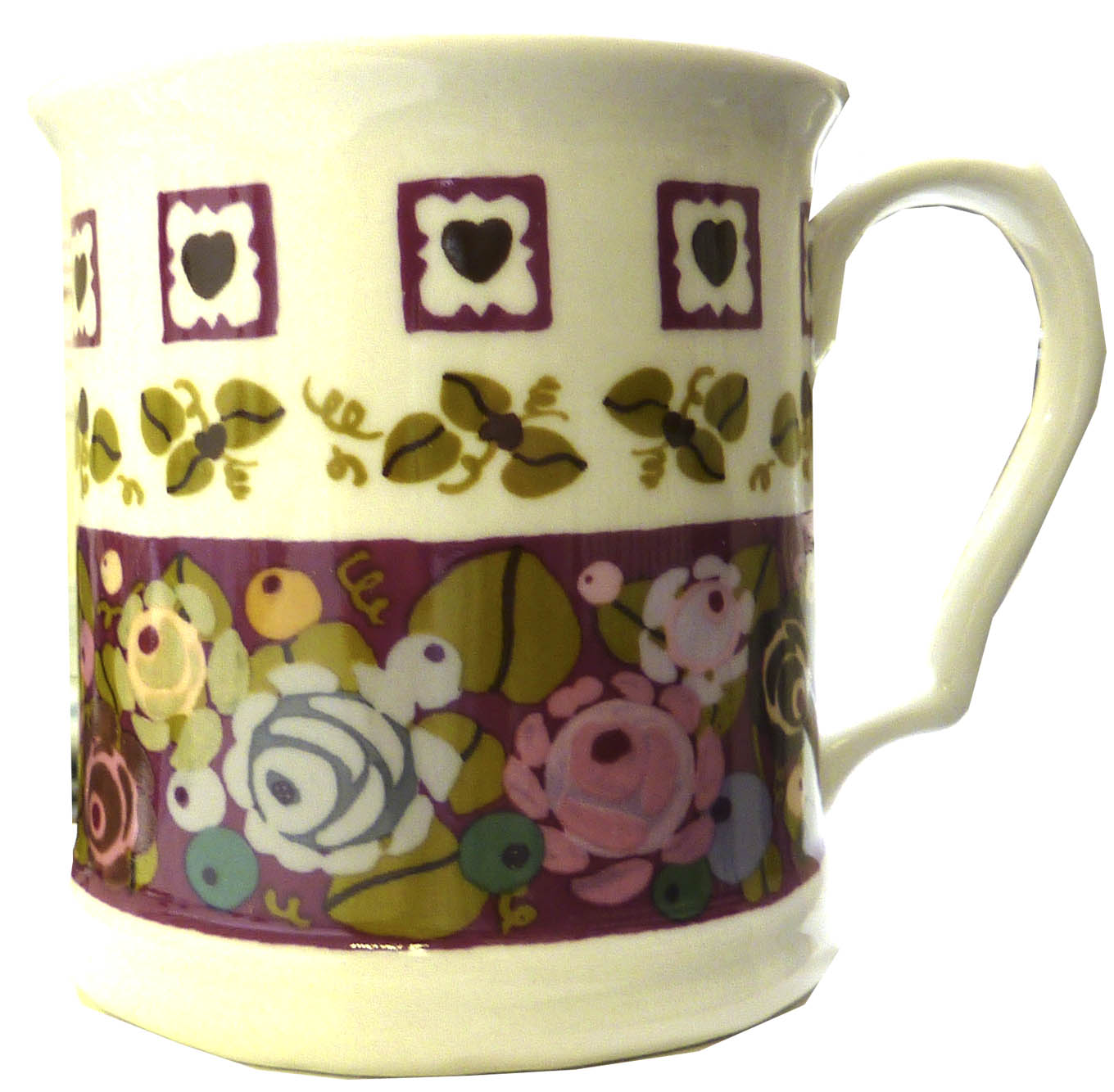 Calamity Jane Large Porcelain Mug by Julie Dodsworth