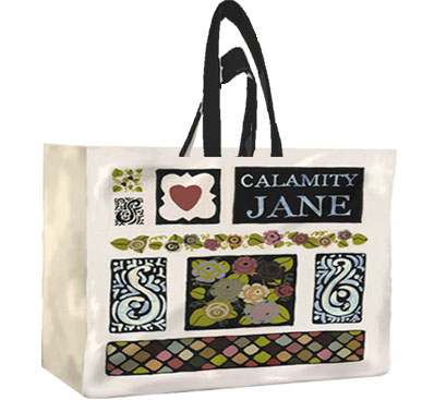 Calamity Jane PVC Pannier Shopper Bag by Julie Dodsworth