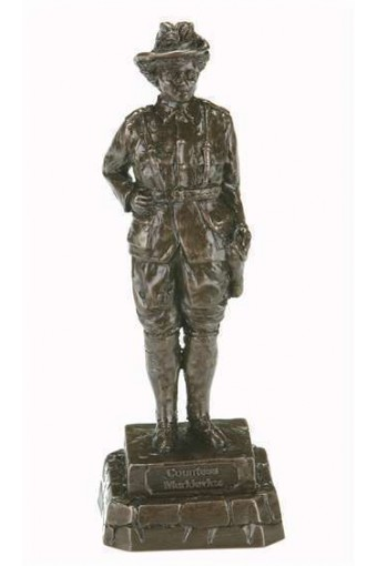 Countess Markievicz Bronze Figure 24cm