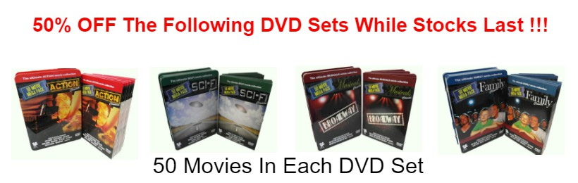 Dvd Set Sale