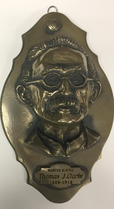 Thomas J Clarke Bronze Wall Plaque 24cm