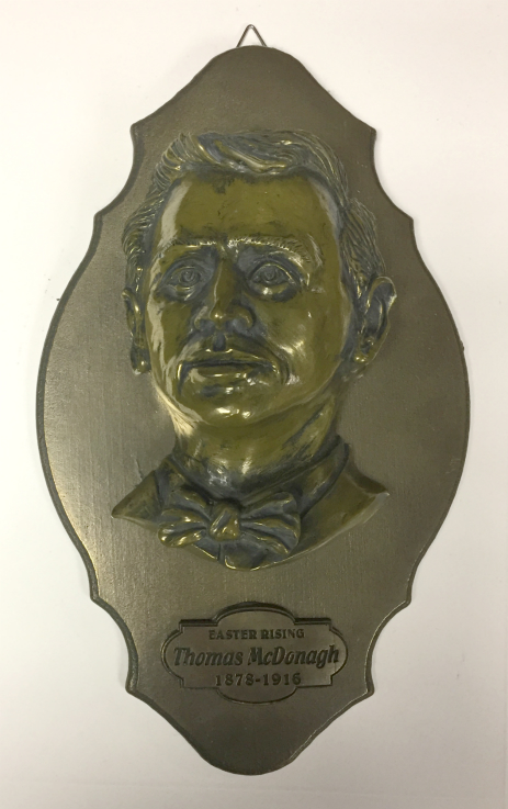 Thomas MacDonagh Bronze Wall Plaque 24cm