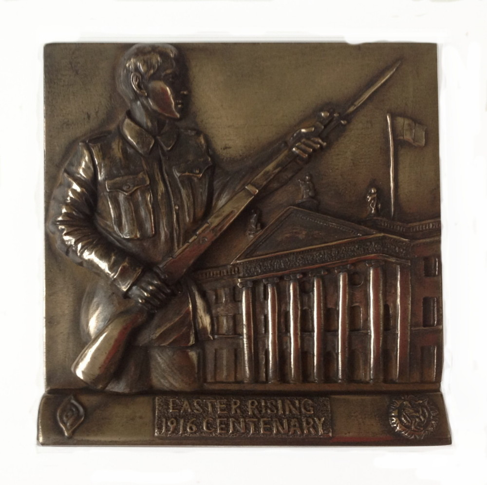 Easter Rising 1916 Centenary Free Standing Bronze Plaque