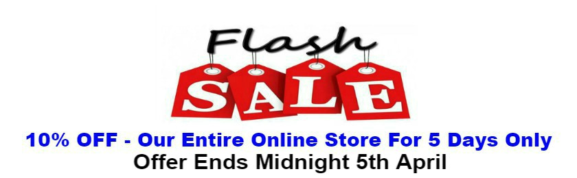 Flash Sale 10% Off For 5 Days