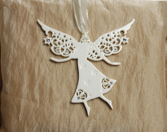 Friendship Angel Porcelain Decoration