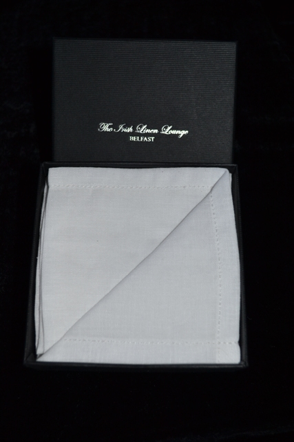 Irish Linen Gent's Handkerchief