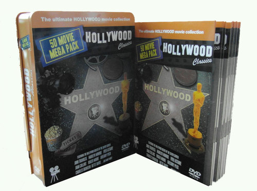 Hollywood Classics - 50 Movie Mega DVD Gift Set