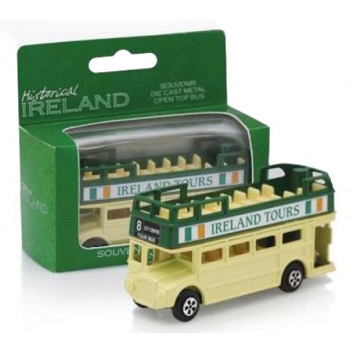 Ireland Open Top Diecast Bus