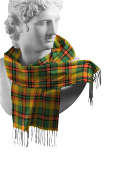 Derry/Londonderry County Tartan Lambswool Scarf