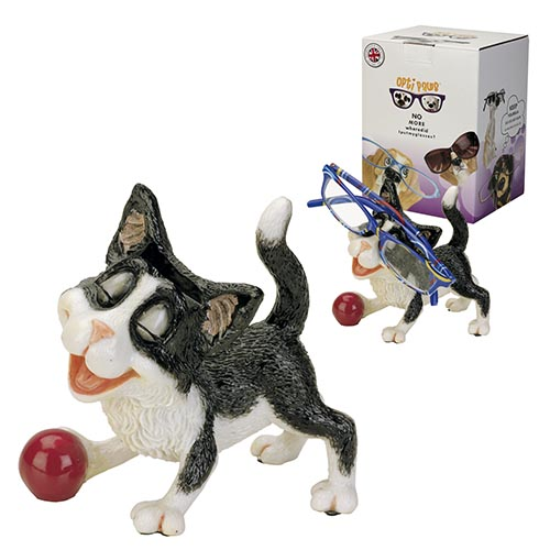 Optipaws Black Cat Eye Glass Holder
