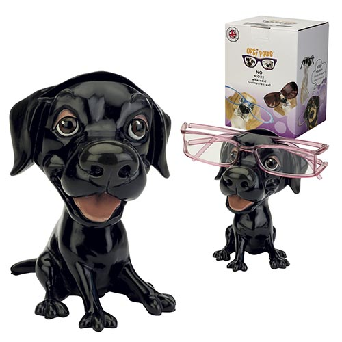 Optipaws Black Labrador Eye Glass Holder