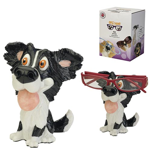 Optipaws Border Collie Eye Glass Holder