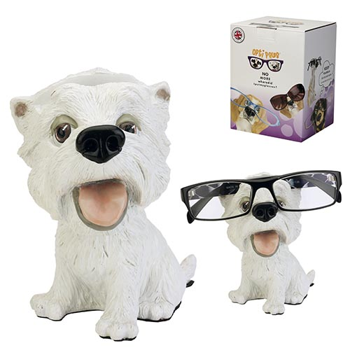 Optipaws Westie Eye Glass Holder
