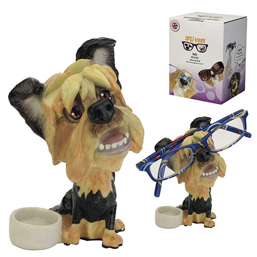 Optipaws Yorkie Eye Glass Holder
