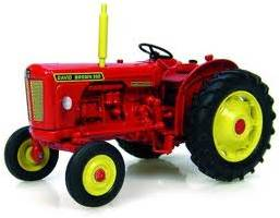 The David Brown Red Implematic 990 Vintage Tractor