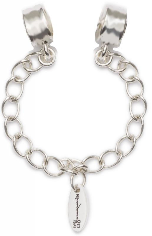 Official Riverdance Jewellery Silver Plated Safety Chain