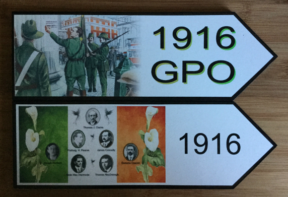 1916 GPO and Irish Proclamation(7) Road Signs