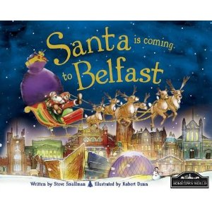 Santa is coming to Belfast - Story Book