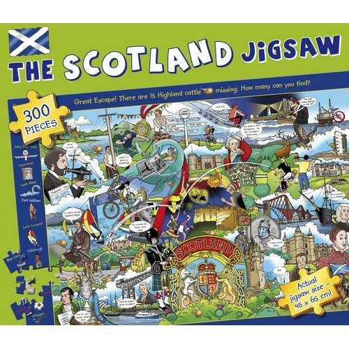 The Scotland 300 Piece Jigsaw Puzzle