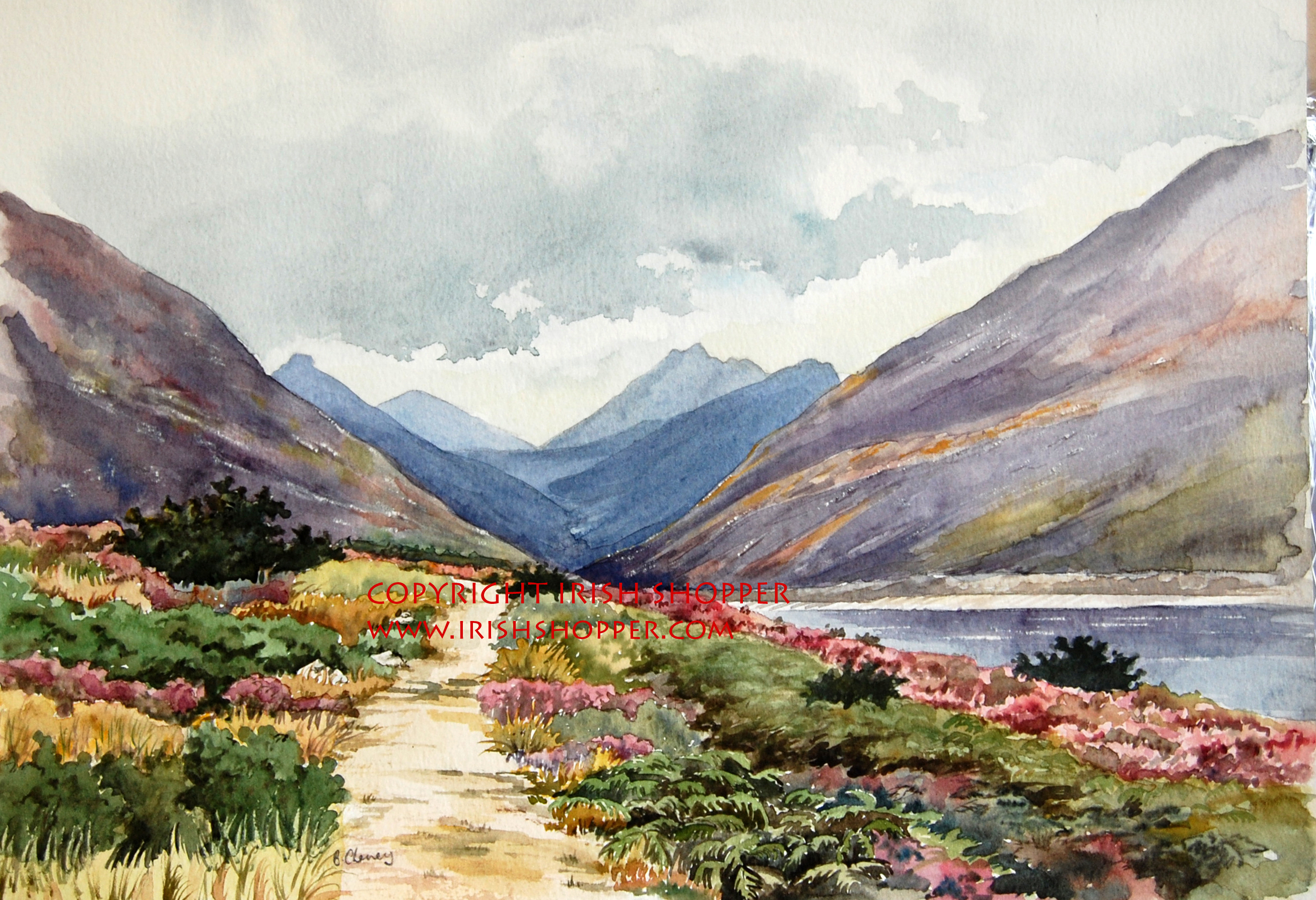 The Silent Valley - A4 Print