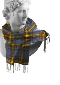 Sligo County Tartan Lambswool Scarf