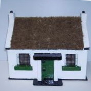 Irish Handcrafted Thatched Cottage - Small