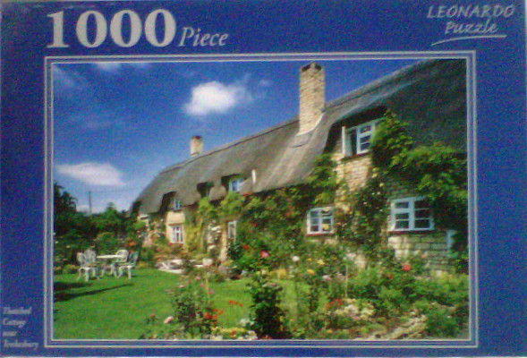 Thatched Cottage 1000 pce Jigsaw Puzzle