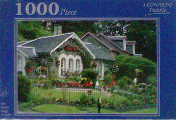 Stone Country Cottage 1000 pce Jigsaw Puzzle