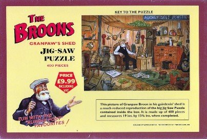 The Broons Granpaw's Shed Jigsaw Puzzle