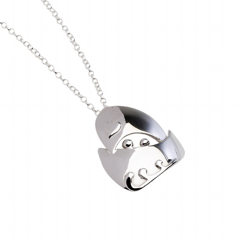 The Voyage Collection Sterling Silver Pendant - Medium