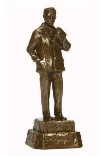 William Butler Yeats Bronze Statue 24cm