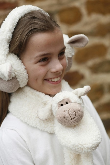 Woolly Sheep Scarf