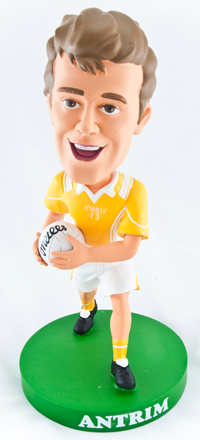 Antrim Gaelic Football Bobblehead Figurine | Irish Sport
