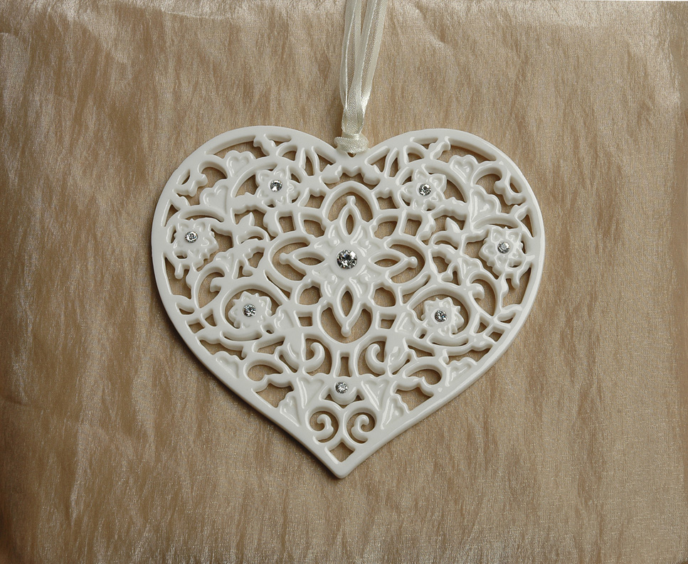 Heart Porcelain Decoration
