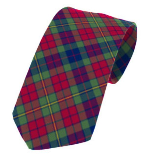 Clare County Plain Weave Pure New Wool Tie