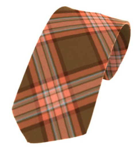 Down County Plain Weave Pure New Wool Tie