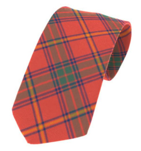 Galway County Plain Weave Pure New Wool Tie