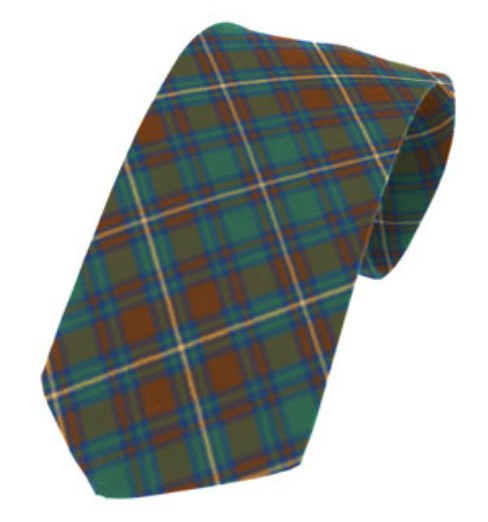Kerry County Plain Weave Pure New Wool Tie