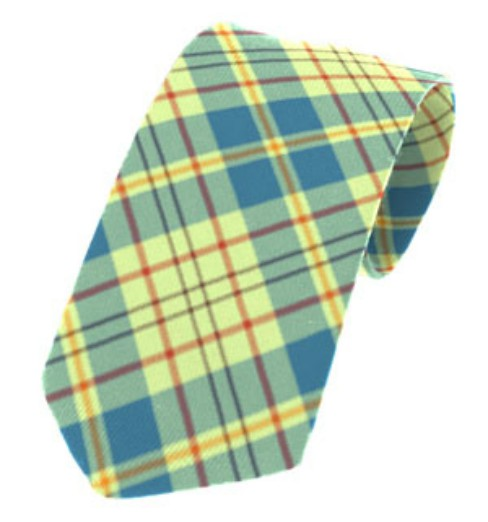 Kildare County Plain Weave Pure New Wool Tie