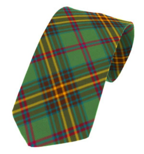 Limerick County Plain Weave Pure New Wool Tie