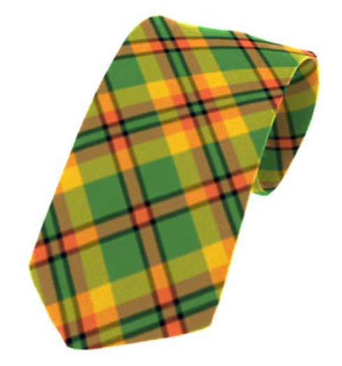 Derry/Londonderry County Plain Weave Pure New Wool Tie