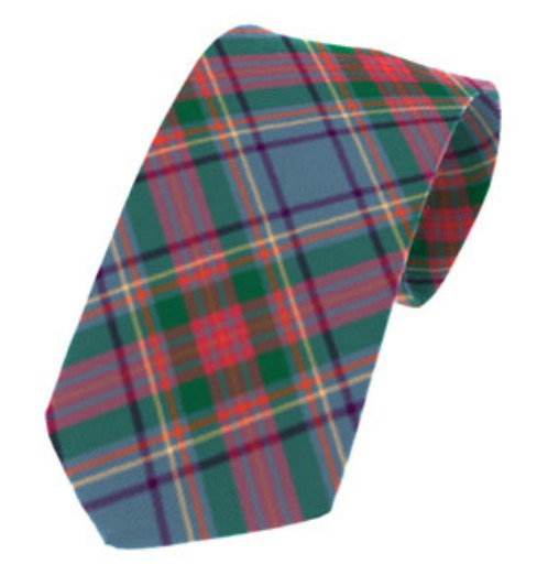 Louth County Plain Weave Pure New Wool Tie